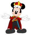 King Mickey - Kingdom Hearts - Royal Attire - mickey-mouse fan art