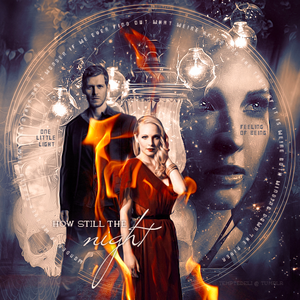 Klaus and Caroline fanarts