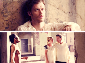 """Klaus in the 1800s flashback in 1x02, """"House of the Rising Son"""""""
