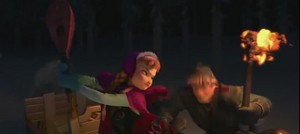 Kristoff and Anna Screencap