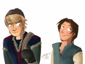 Kristoff and Eugene