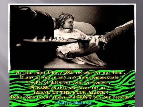 Kurt Cobain: Why His Feminist Comments Are More Relevant ...  |Nirvana Feminism