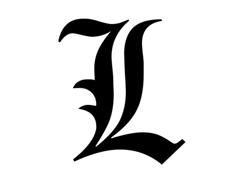 Тетрадь смерти Обои entitled L Lawliet
