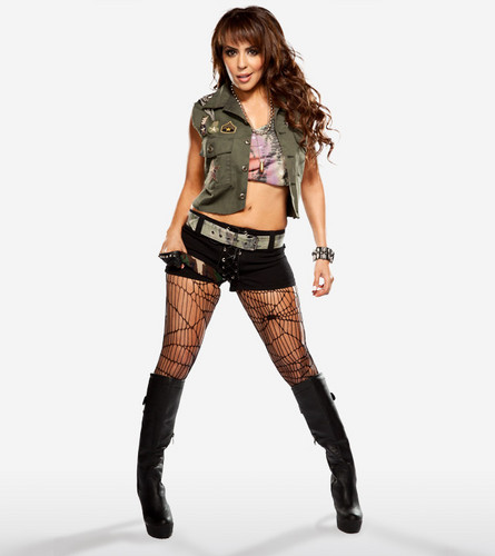 WWE LAYLA wallpaper with a hip boot titled Layla