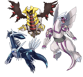 Legendary trio - legendary-pokemon photo