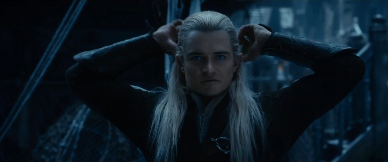 The Hobbit Trailer Analysis - The Desolation of Smaug ... |The Hobbit The Desolation Of Smaug Legolas