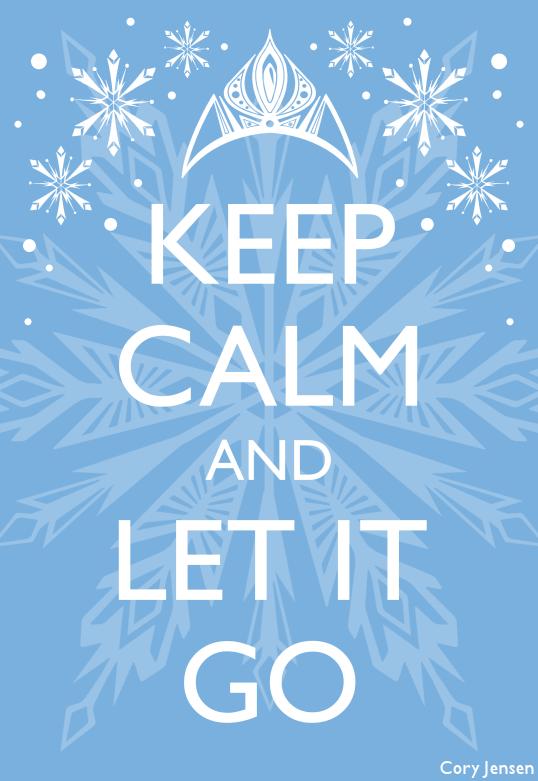 Let It Go Lyrics from Frozen