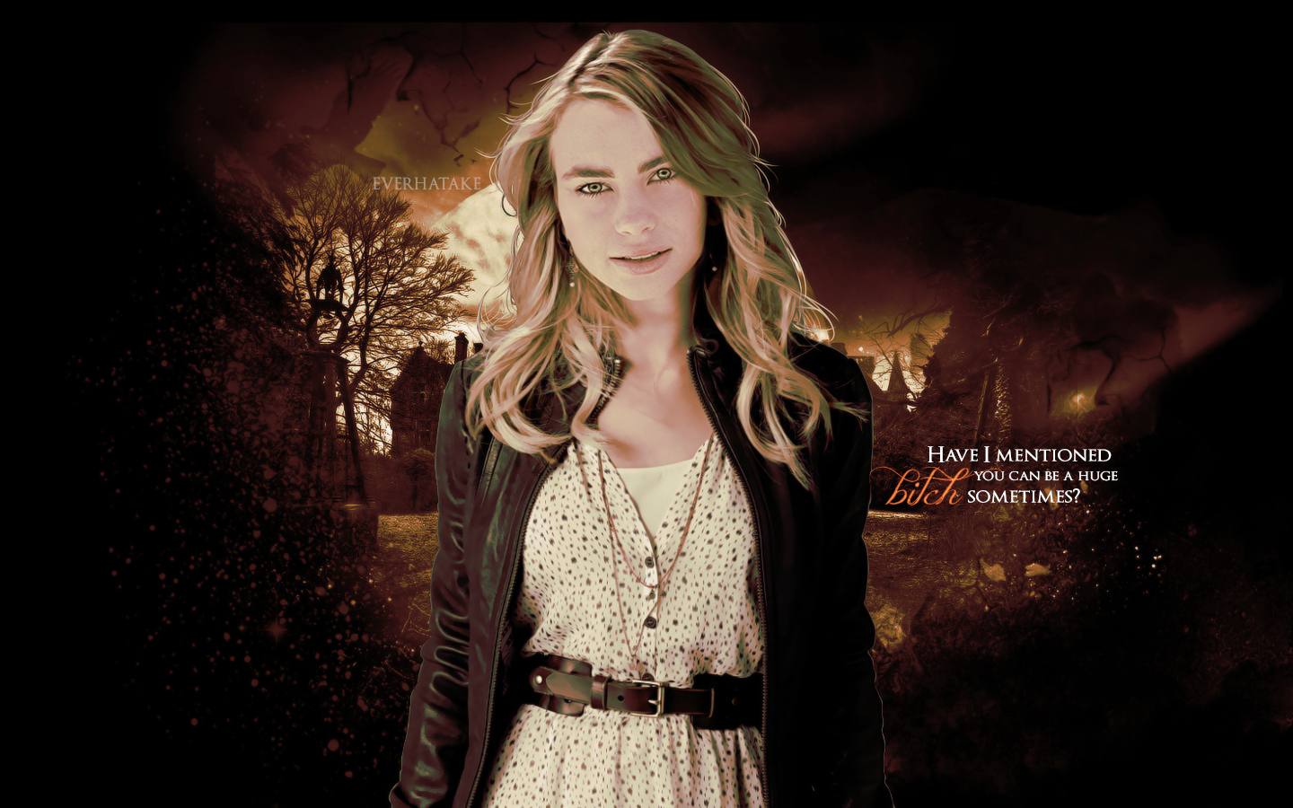 Lissa Wallpaper - Vampire Academy Wallpaper (35659319 ...
