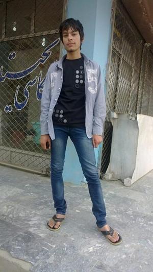 Lovely boy Baris Rahimi