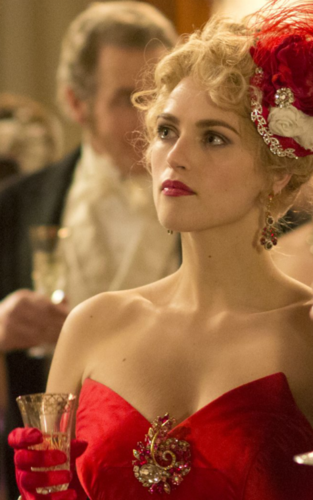 Dracula NBC wolpeyper probably containing a bouquet titled Lucy Westenra (Katie Mcgrath)