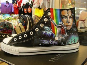 MJ Converse All-Star Hi-Tops
