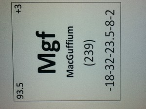 MacGuffium on the Periodic meja