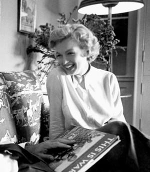 Marilyn Monroe. 1951