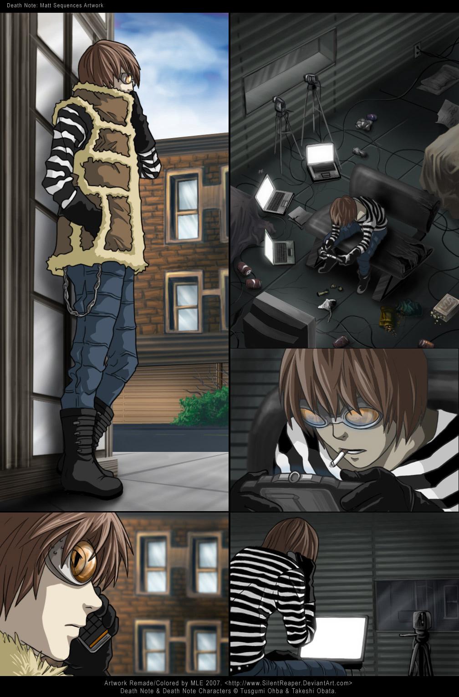 Matt - Death Note Fan Art (35716575) - Fanpop