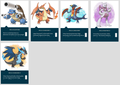 Mega Evolutions orodha