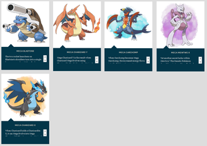 Mega Evolutions lista