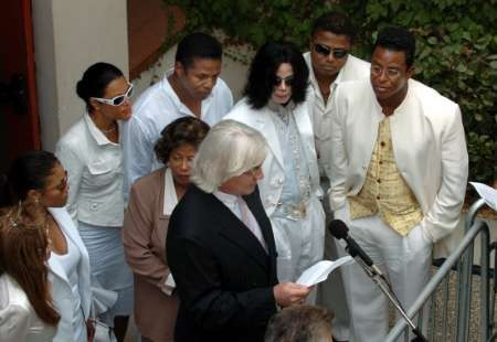 Messereau And The Jackson Family Back In 2005