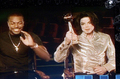 Michael And Chris Tucker - michael-jackson photo