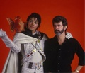 Michael And George Lucas - michael-jackson photo
