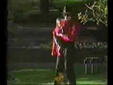 Michael And Oldest Son, Prince Back In 1997