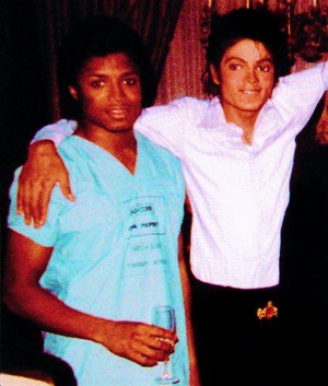 Michael And Younger Brother, Randy