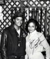 A Vintage Autographed Photo Of Michael And Janet - michael-jackson photo