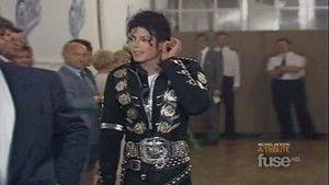 Michael Backstage