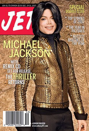 "Michael On The Cover Of The 2007 Issue Of ""JET"" Magazine"