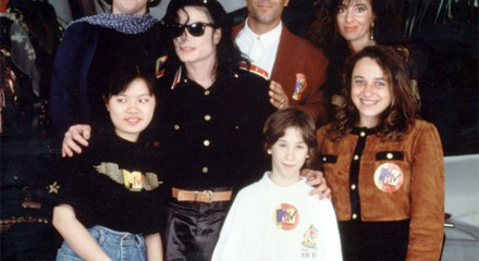 Michael With His 팬