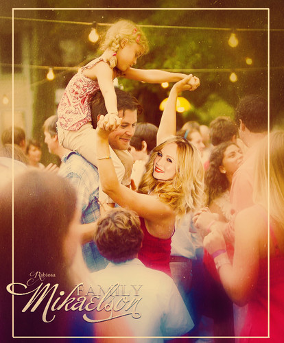 Klaus & Caroline wallpaper called Mikaelson family