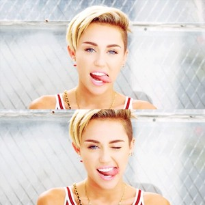 "Miley in ""23"" music vedio"