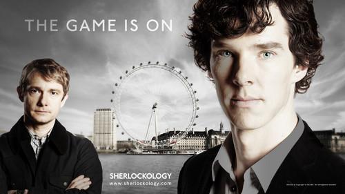 Sherlock in der BBC Hintergrund containing a business suit entitled Mine very banal Hintergrund :)