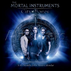 Mortal Instruments City of Bones Calendar cover
