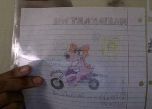My Mario Kart drawings