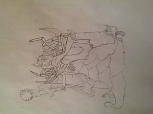 My Morganthe Drawing