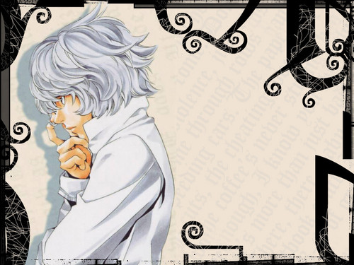 death note wallpaper containing anime entitled Near
