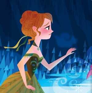 Official Frozen - Uma Aventura Congelante Illustration