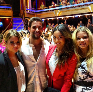 PLL girls on Dancing with the stars