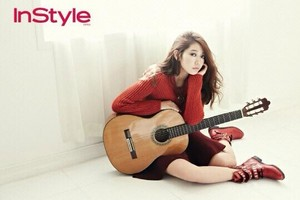 Park Shin Hye October issue for InStyle