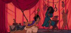 Peeping Thomas Aladdin/Esmeralda