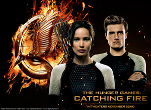 Peeta & Katniss- Catching огонь