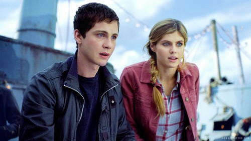 Percy Jackson And Annabeth Chase wallpaper called Percy and Annabeth in PJ: Sea of Monsters