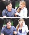 Percy and Annabeth in PJ: Sea of Monsters
