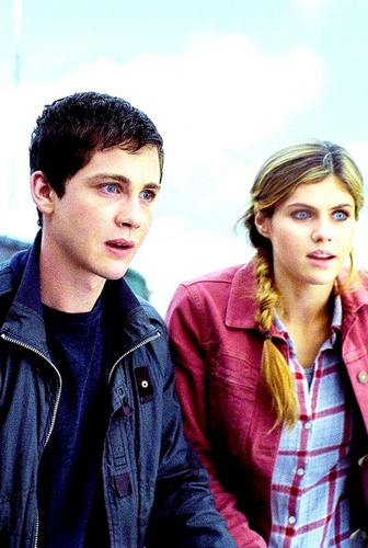 Percy Jackson And Annabeth Chase wallpaper titled Percy and Annabeth ♚