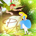 Peter Pan and Alice - disney-crossover icon