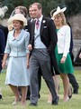 Prince William attends the wedding of James Meade