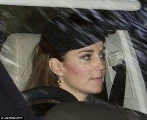 Prince William was in the driving zitplaats, stoel