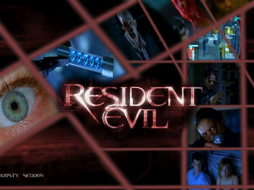 Resident Evil Movie 壁纸 containing a chainlink fence called Resident Evil