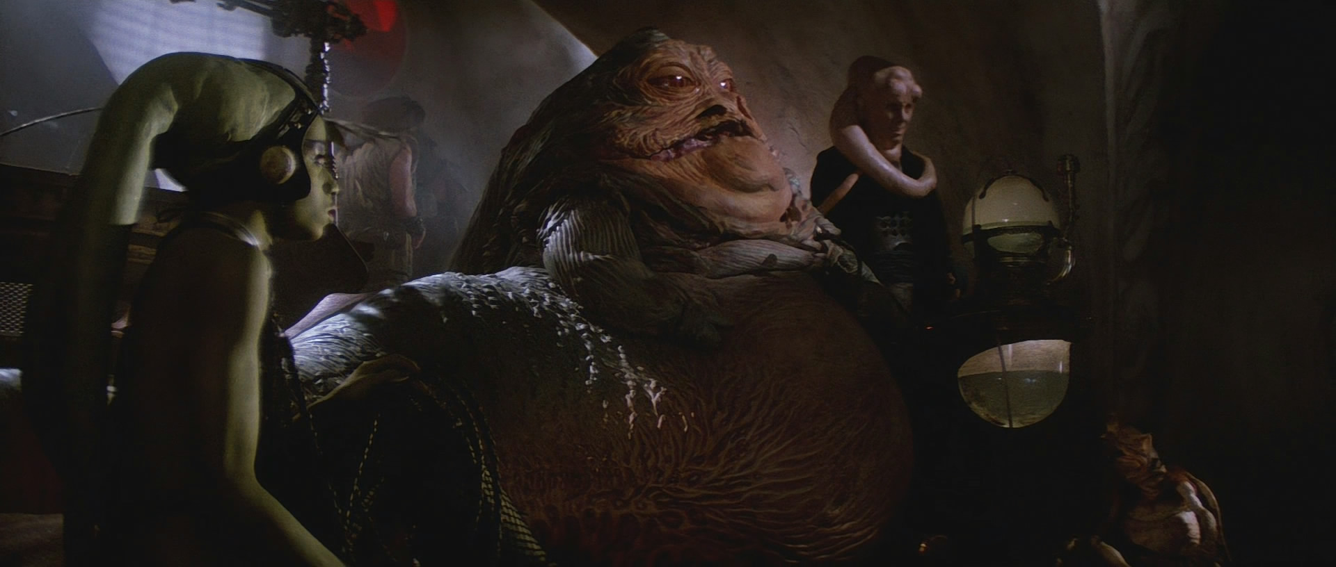 Oola Jabbas Twilek Slave Pictures Jabba The Hutt And Oola