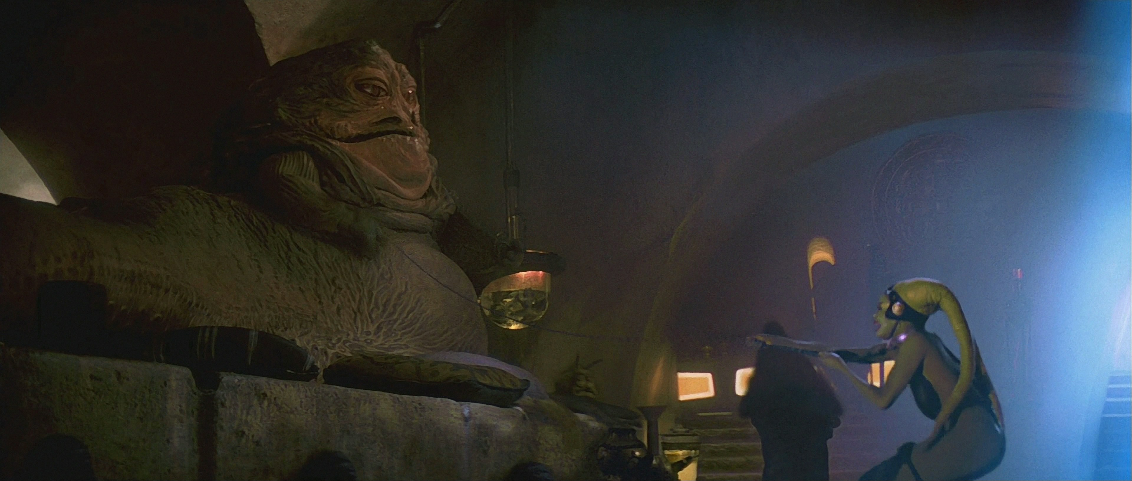 Oola Jabba's Twi'lek Slave images Return of the Jedi ... Jabba The Hutt And Oola